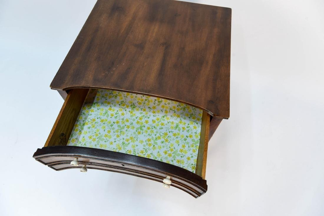 TWO DRAWER SIDE TABLE - 5