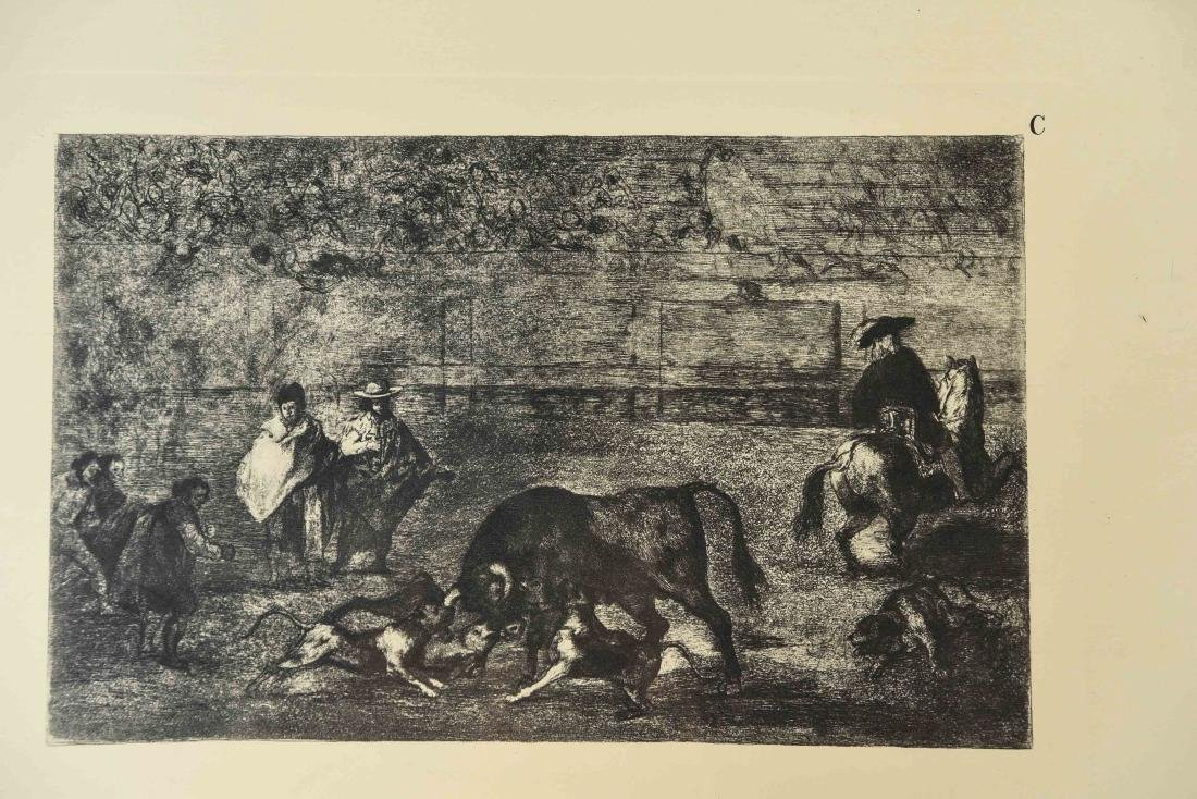 SET OF (8) GOYA PRINTS W/ CERTIFICATE - 2