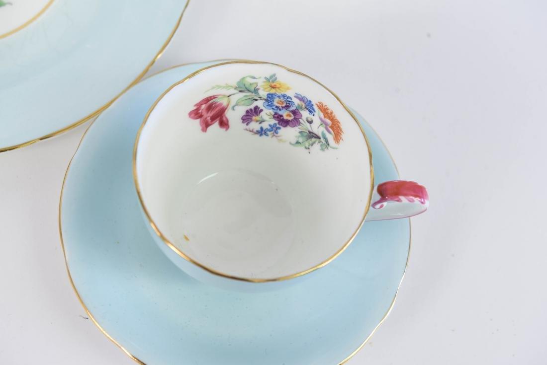 AYNSLEY ENGLAND BONE CHINA TEA SERVICE - 3