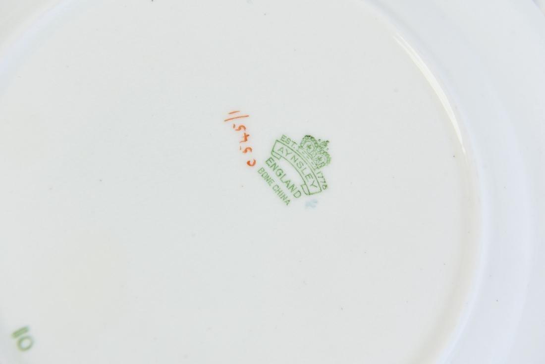 AYNSLEY ENGLAND BONE CHINA TEA SERVICE - 6