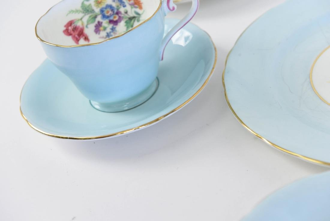 AYNSLEY ENGLAND BONE CHINA TEA SERVICE - 8