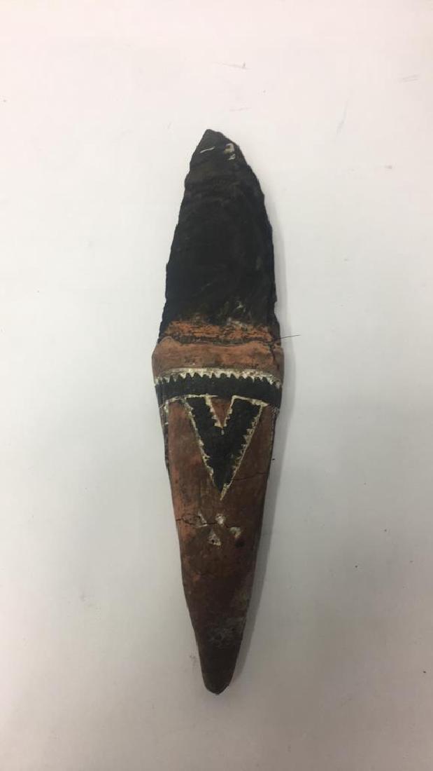 PAPUA NEW GUINEA ADMIRALTY ISLANDS OBSIDIAN KNIFE - 7