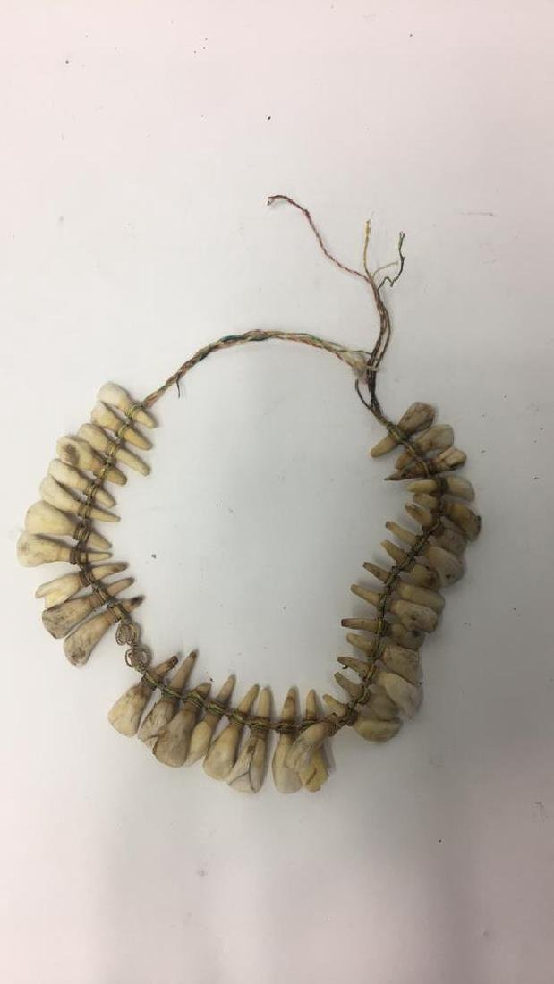 TRIBAL TOOTH NECKLACE