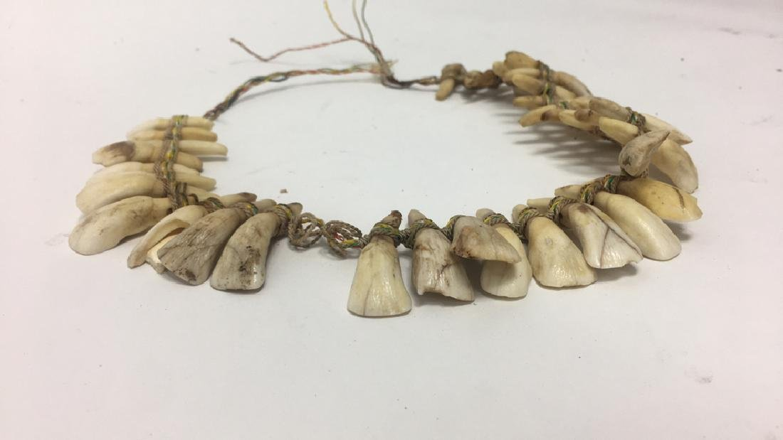 TRIBAL TOOTH NECKLACE - 2