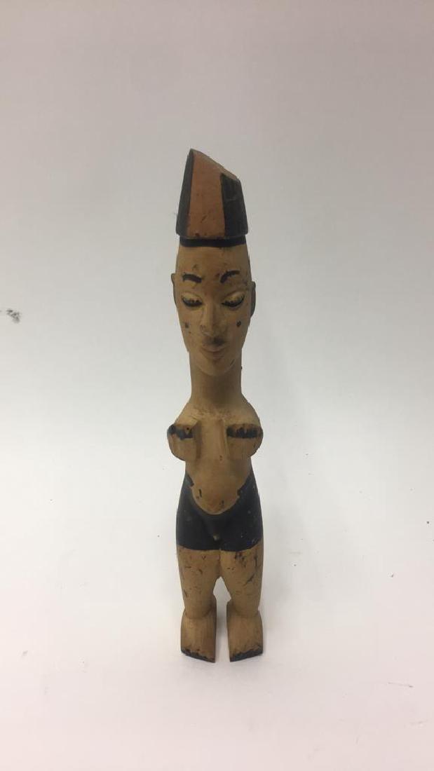 WEST AFRICAN FIGURAL SCULPTURE
