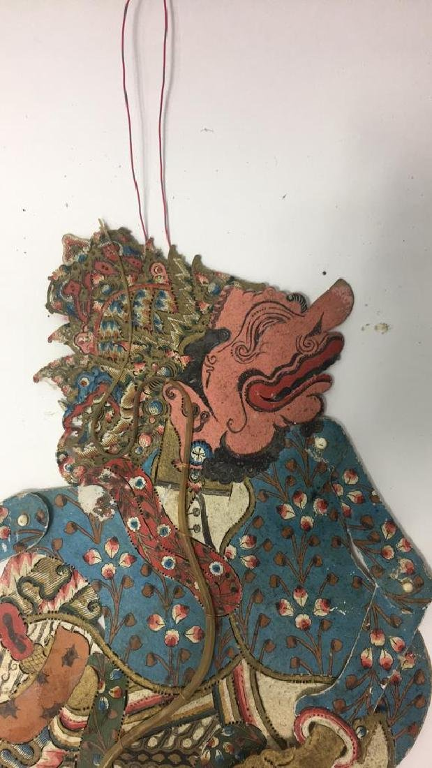 GROUPING OF JAVANESE SHADOW PUPPETS - 10
