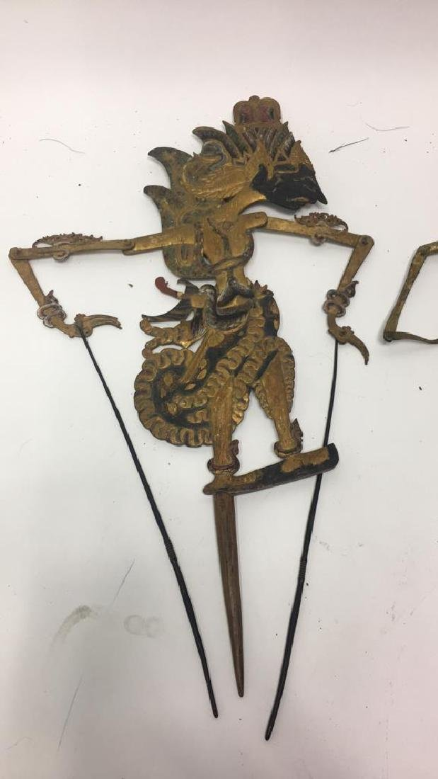 GROUPING OF JAVANESE SHADOW PUPPETS - 2