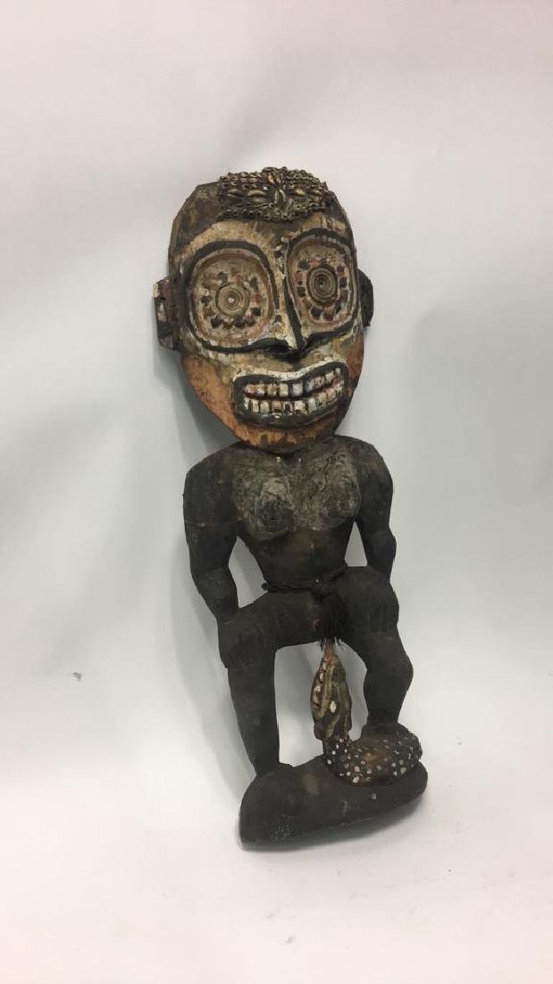 NEW GUINEA FIGURE SCULPTURE - 2
