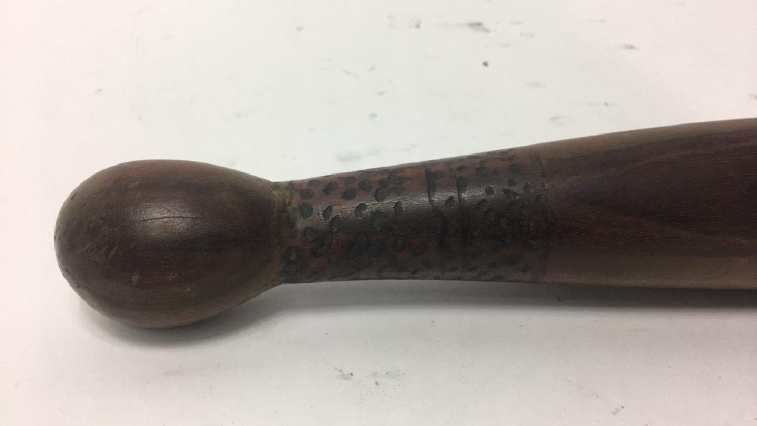 AUSTRALIAN ABORIGINE WOODEN CLUB - 2