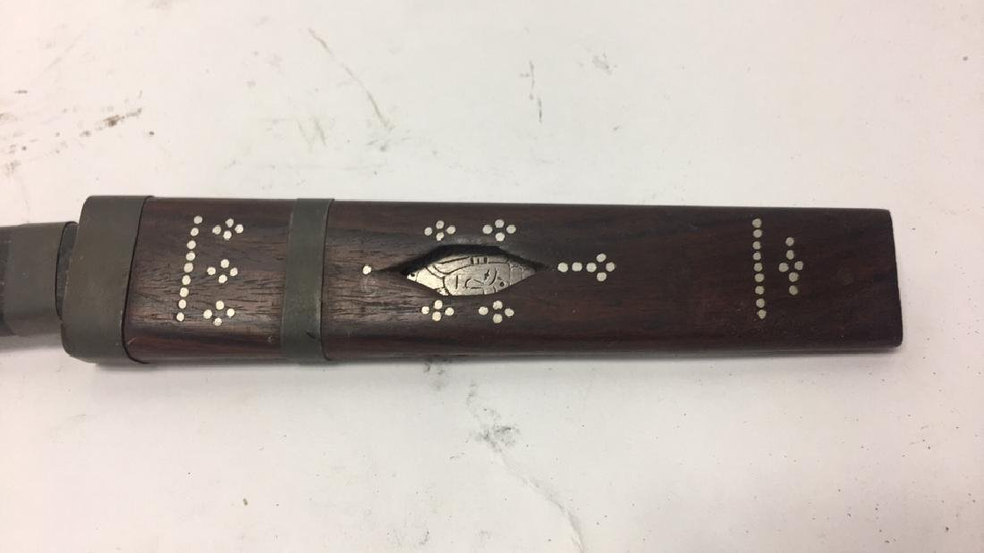 THAI CARVED & DECORATED KNIFE - 2