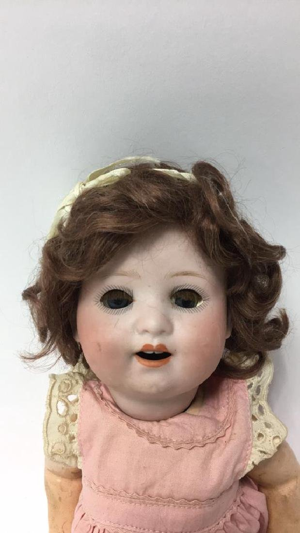 ANTIQUE GERMAN BISQUE & COMPOSITION DOLL - 2