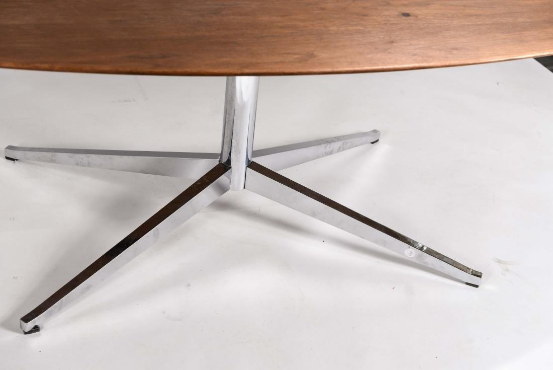 KNOLL WALNUT CONFERENCE TABLE - 2