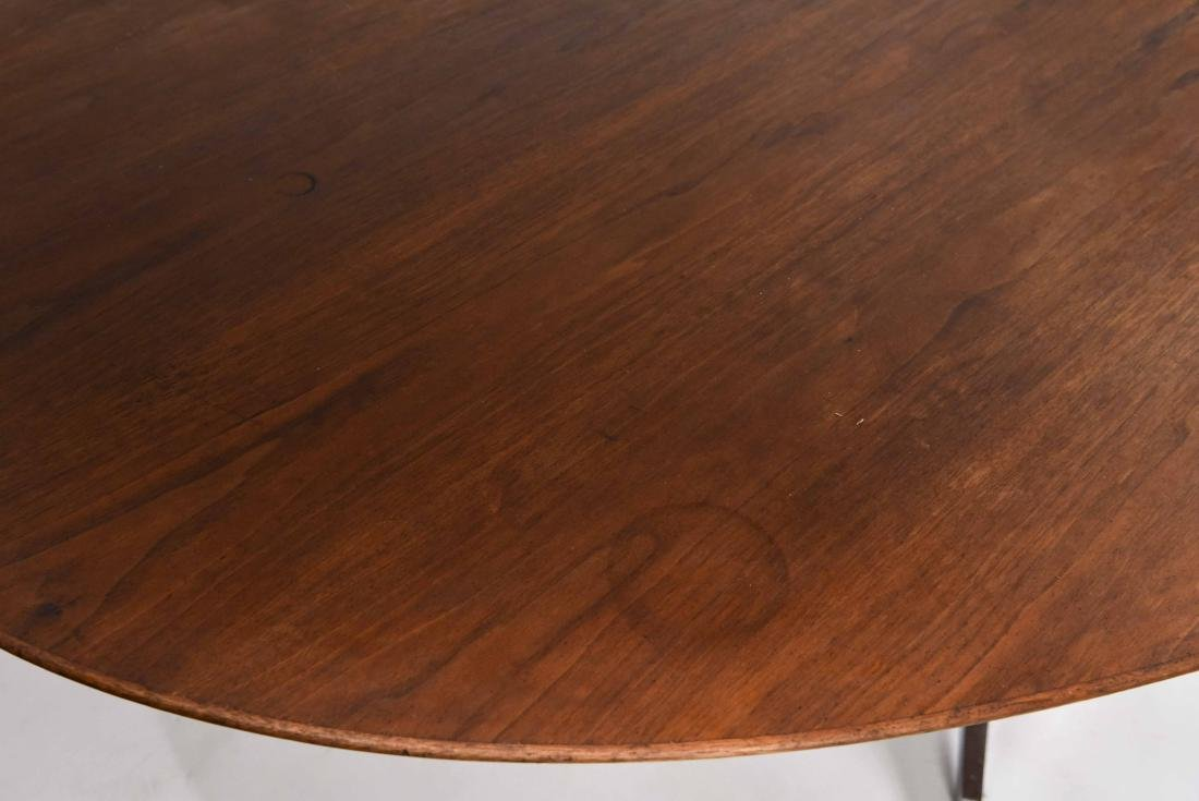 KNOLL WALNUT CONFERENCE TABLE - 3