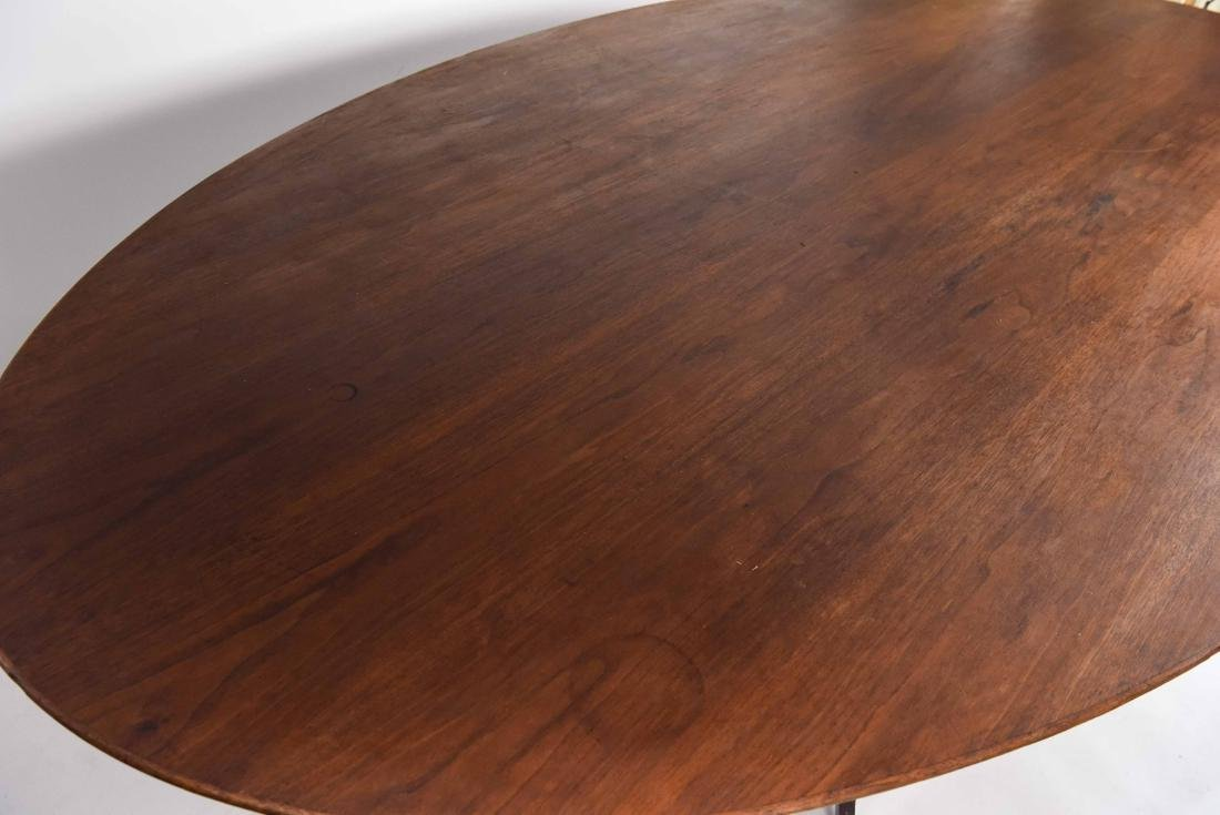 KNOLL WALNUT CONFERENCE TABLE - 4