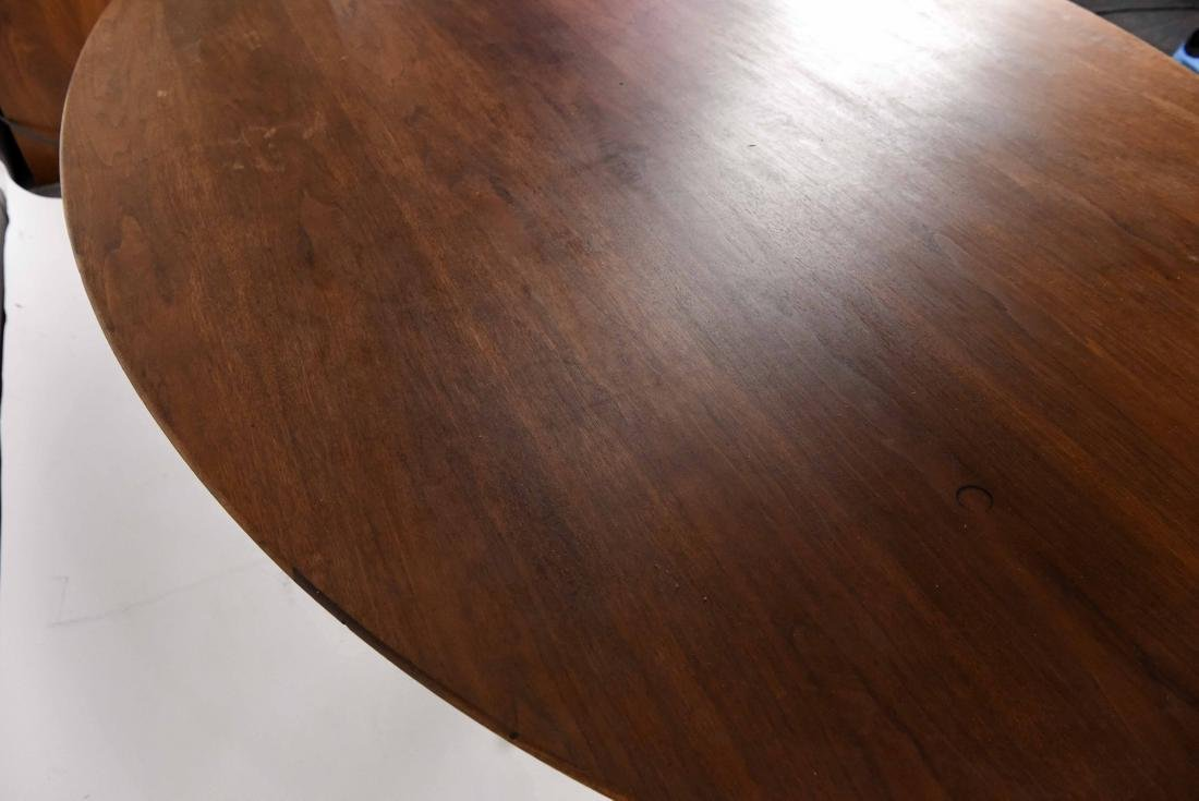 KNOLL WALNUT CONFERENCE TABLE - 5