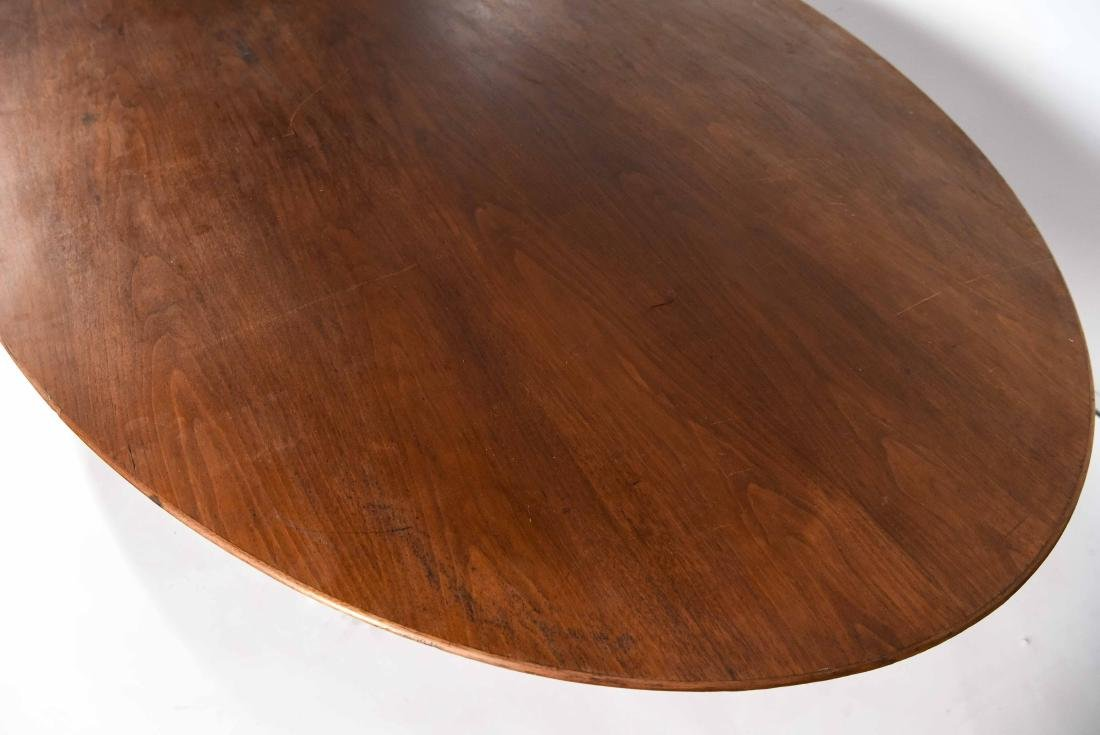 KNOLL WALNUT CONFERENCE TABLE - 7