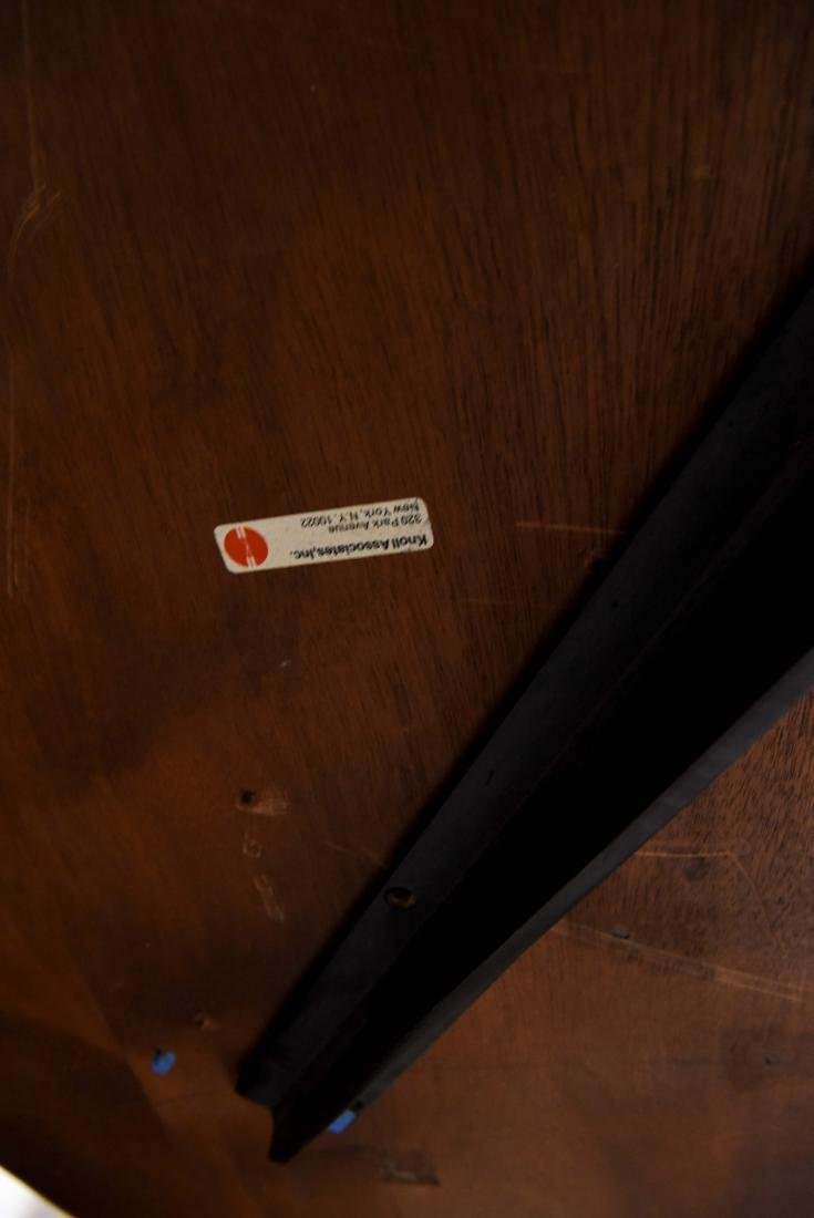 KNOLL WALNUT CONFERENCE TABLE - 8
