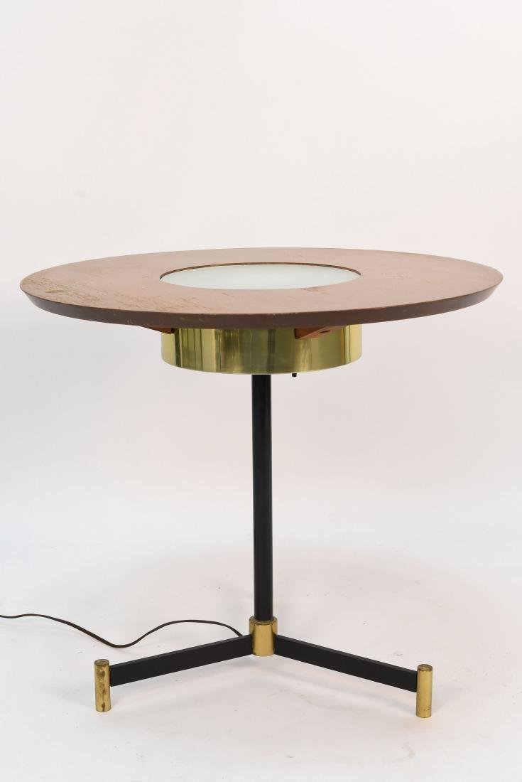ITALIAN ILLUMINATED LAMP TABLE