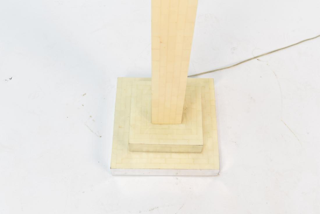 IN MANNER OF ENRIQUE GARCEL TESSELLATED BONE LAMP - 4