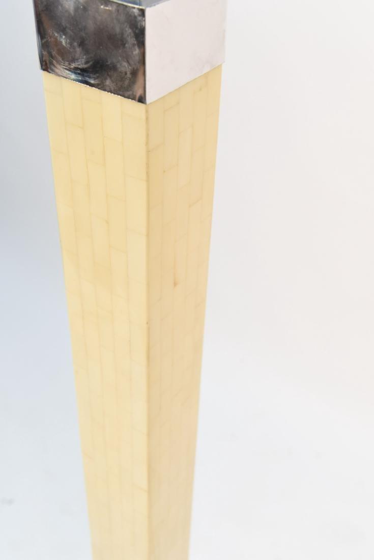 IN MANNER OF ENRIQUE GARCEL TESSELLATED BONE LAMP - 6