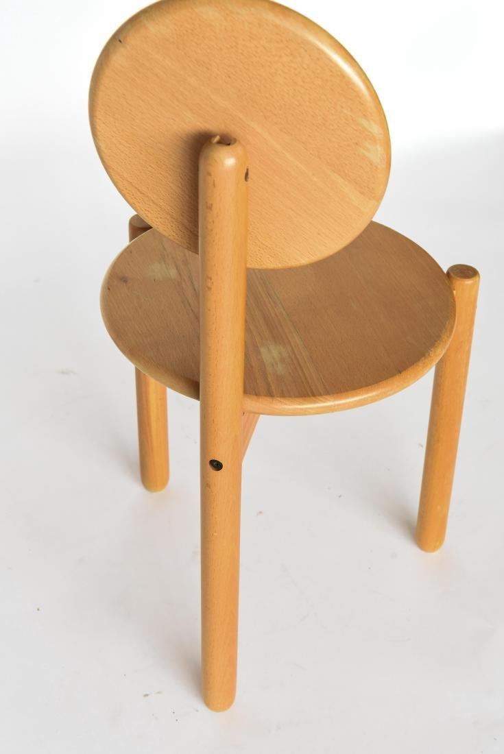 MID-CENTURY THREE LEG CIRCLE BACK CHAIR - 8