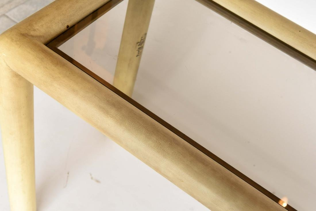 PHYLLIS MORRIS (1925-1988) SIGNED CONSOLE TABLE - 3