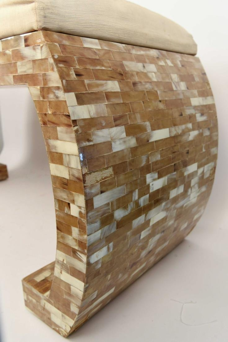 TESSELLATED SPRINGER STYLE BENCH - 4
