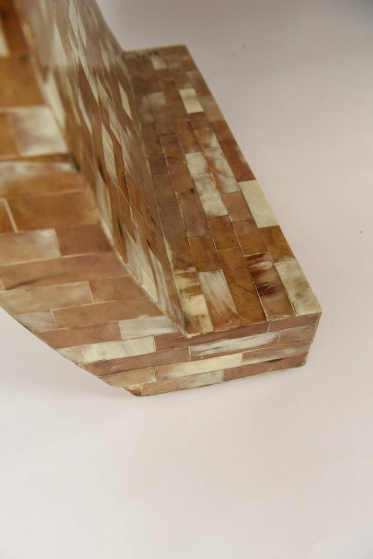 TESSELLATED SPRINGER STYLE BENCH - 5