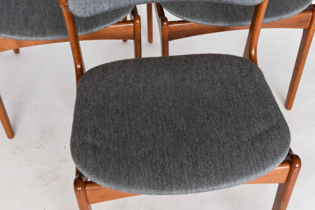 (6) ODDENSE MASKINSNEDKERI A-S DINING CHAIRS - 2