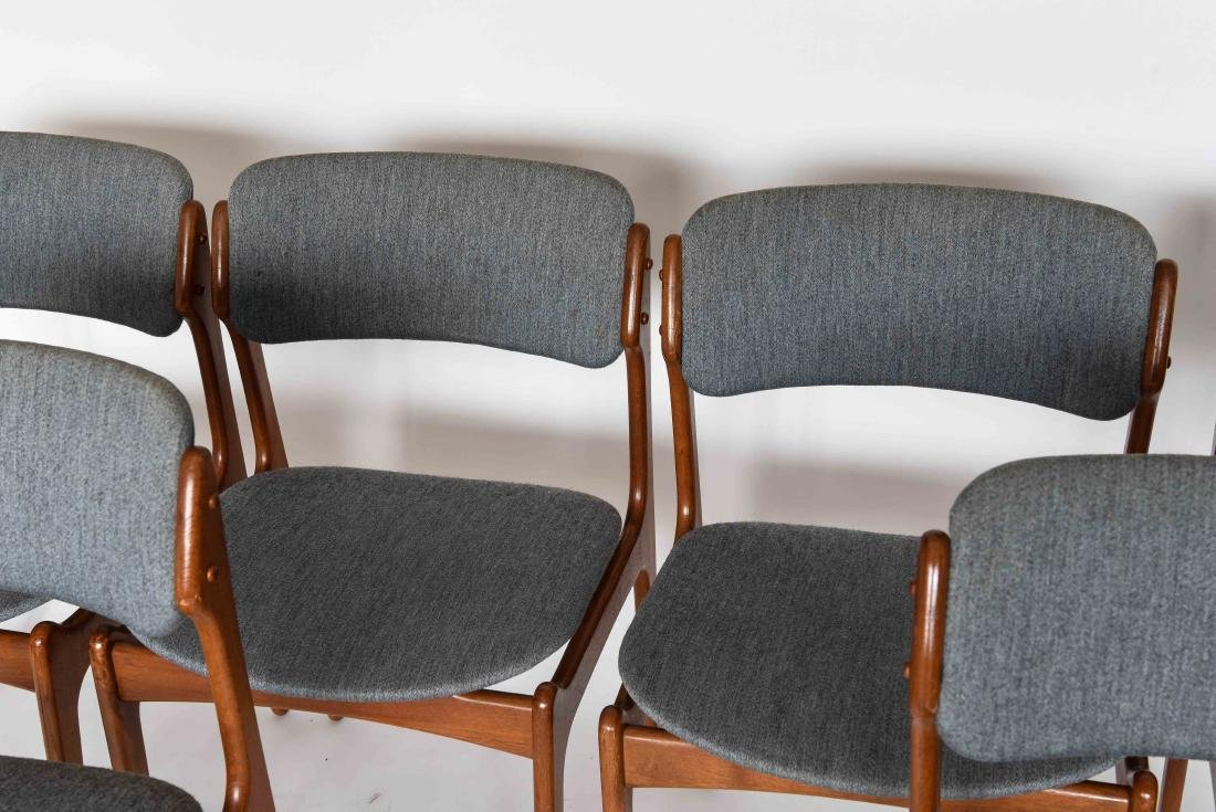 (6) ODDENSE MASKINSNEDKERI A-S DINING CHAIRS - 4