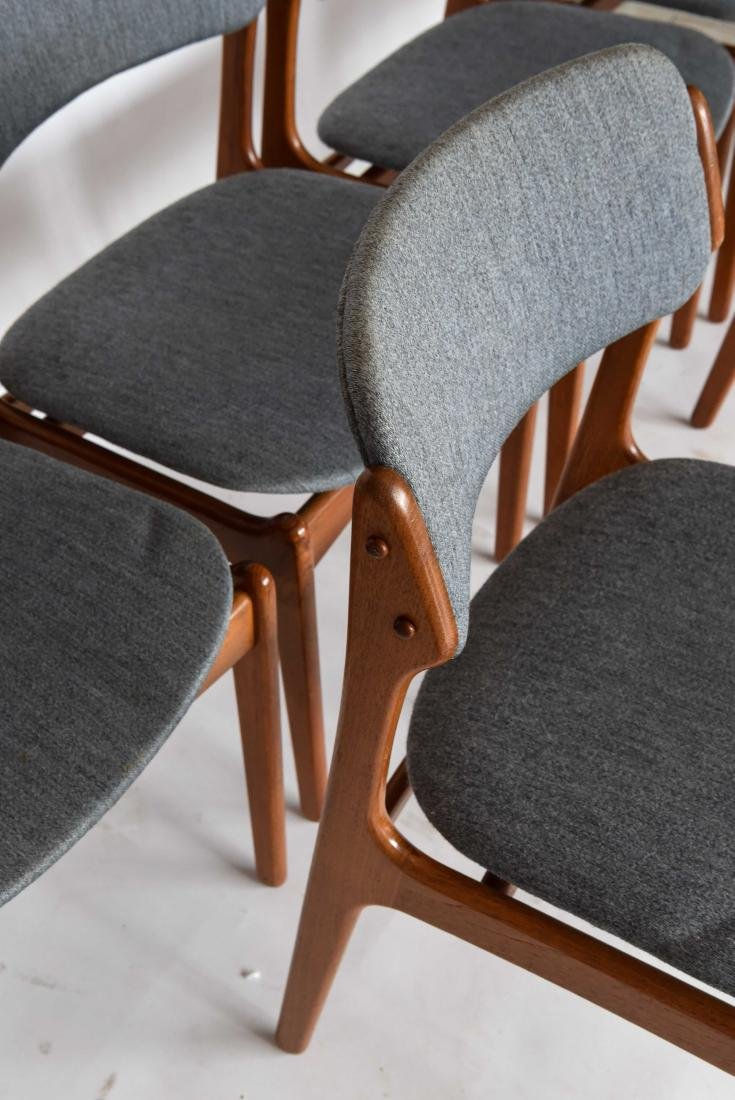 (6) ODDENSE MASKINSNEDKERI A-S DINING CHAIRS - 5
