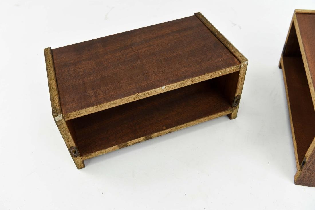 PAIR OF DANISH TEAK FLOATING SHELVES - 5