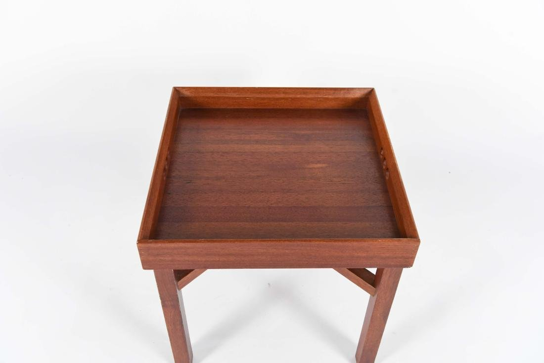 JENS QUISTGAARD STYLE MID-CENTURY TRAY TABLE - 2