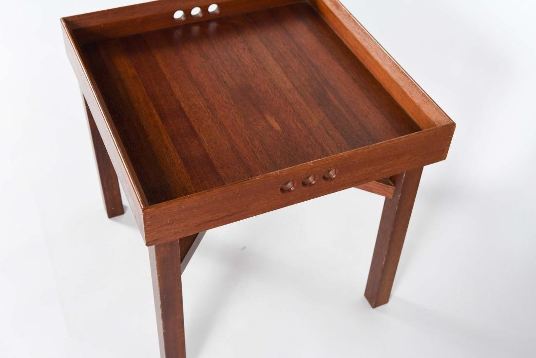 JENS QUISTGAARD STYLE MID-CENTURY TRAY TABLE - 3
