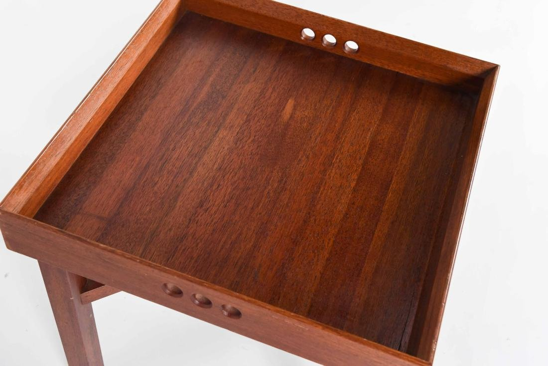 JENS QUISTGAARD STYLE MID-CENTURY TRAY TABLE - 4
