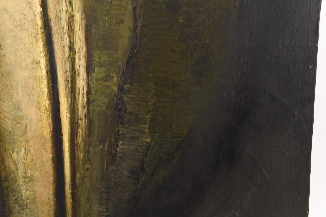 DENNIS LUZAK (AMERICAN B. 1939) OIL ON CANVAS - 5