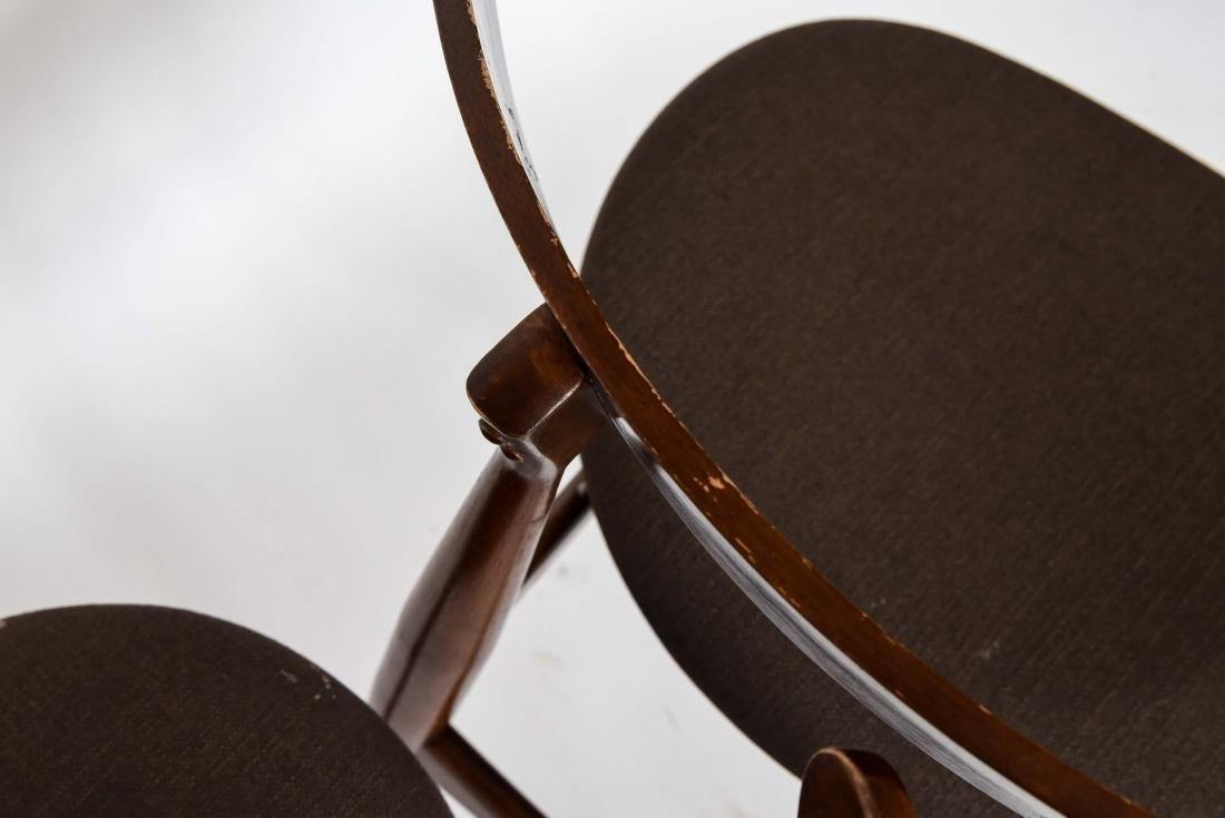 (8) MID-CENTURY DANISH STYLE DINING CHAIRS - 10