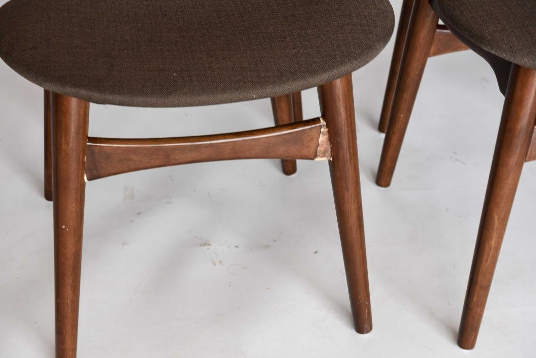 (8) MID-CENTURY DANISH STYLE DINING CHAIRS - 2