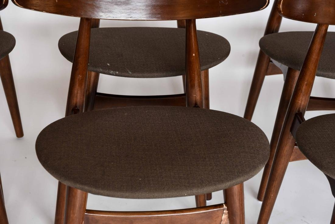 (8) MID-CENTURY DANISH STYLE DINING CHAIRS - 3