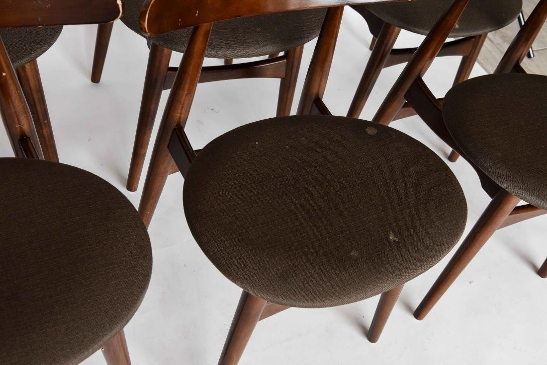 (8) MID-CENTURY DANISH STYLE DINING CHAIRS - 5