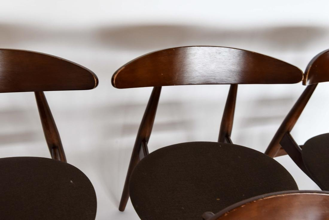 (8) MID-CENTURY DANISH STYLE DINING CHAIRS - 6