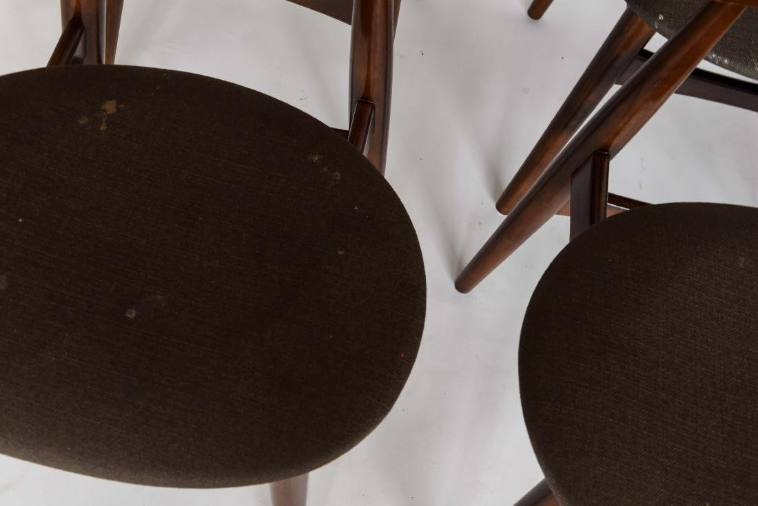 (8) MID-CENTURY DANISH STYLE DINING CHAIRS - 7