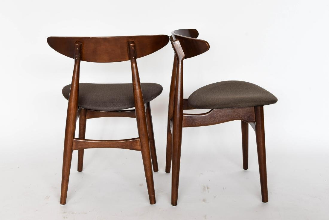 (8) MID-CENTURY DANISH STYLE DINING CHAIRS - 8