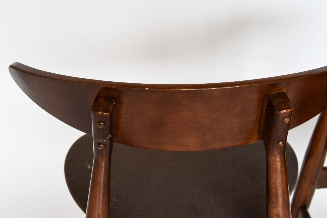 (8) MID-CENTURY DANISH STYLE DINING CHAIRS - 9