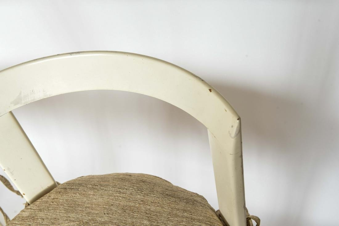 (4) ITALIAN MID-CENTURY CANE SEAT CHAIRS - 6