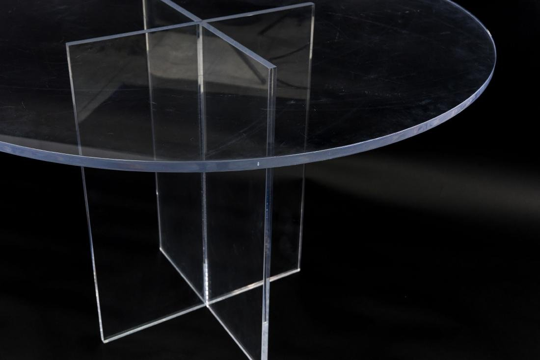 LUCITE TABLE - 2