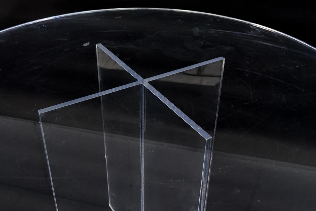 LUCITE TABLE - 3