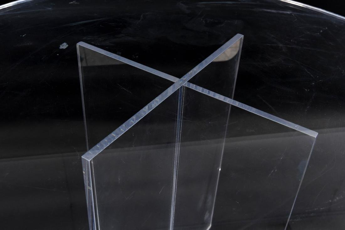 LUCITE TABLE - 5