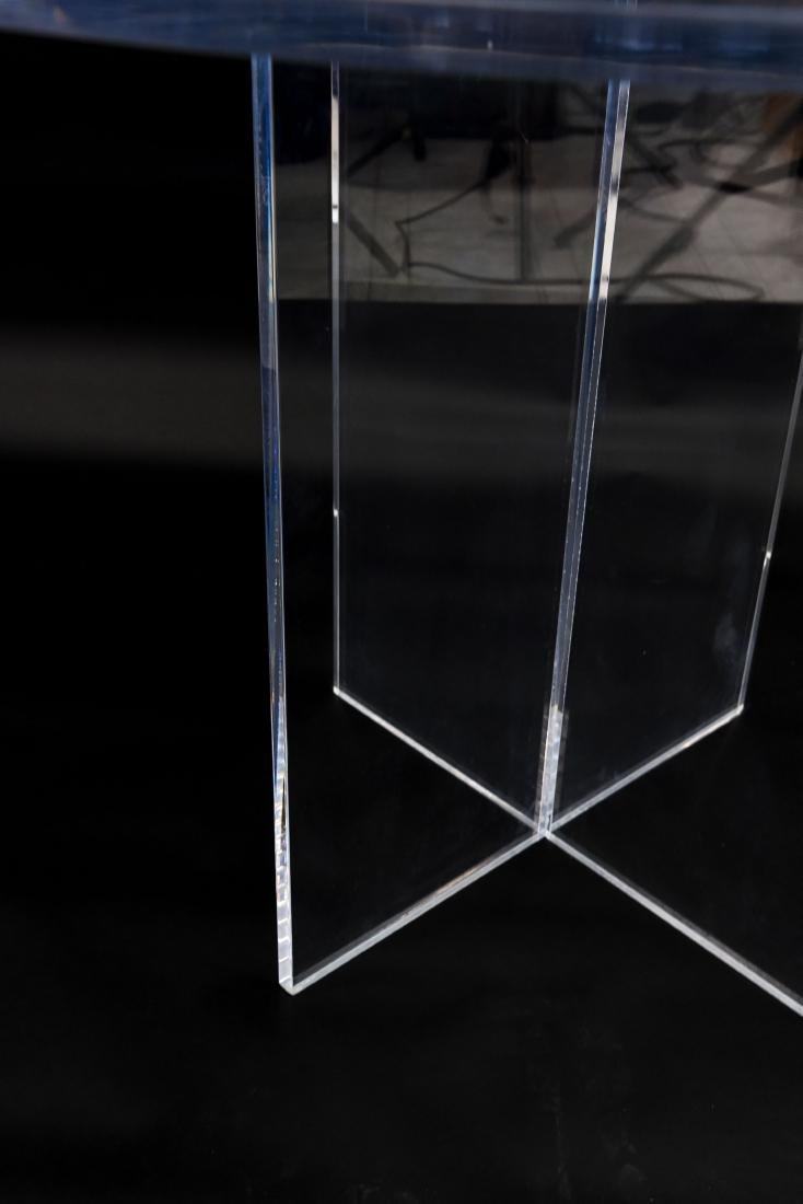 LUCITE TABLE - 6