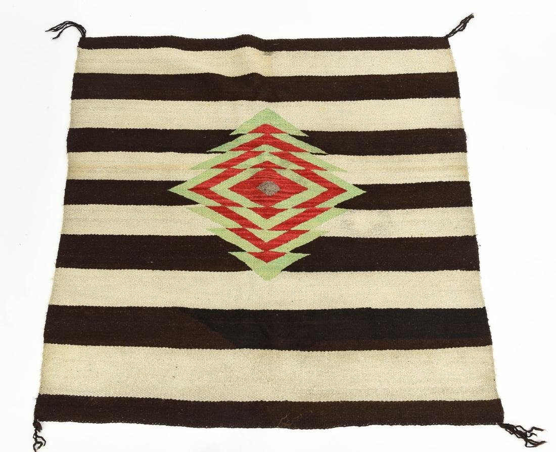 STRIPED NATIVE AMERICAN THROW RUG